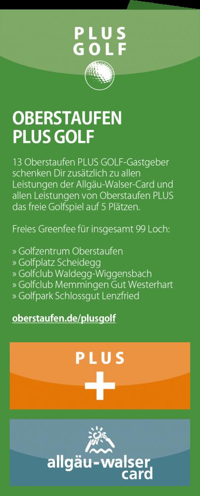 Oberstaufen Plus Golf